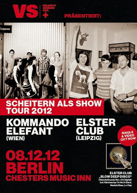 Kommando Elefant gemeinsam mit Elster Club in Berlin