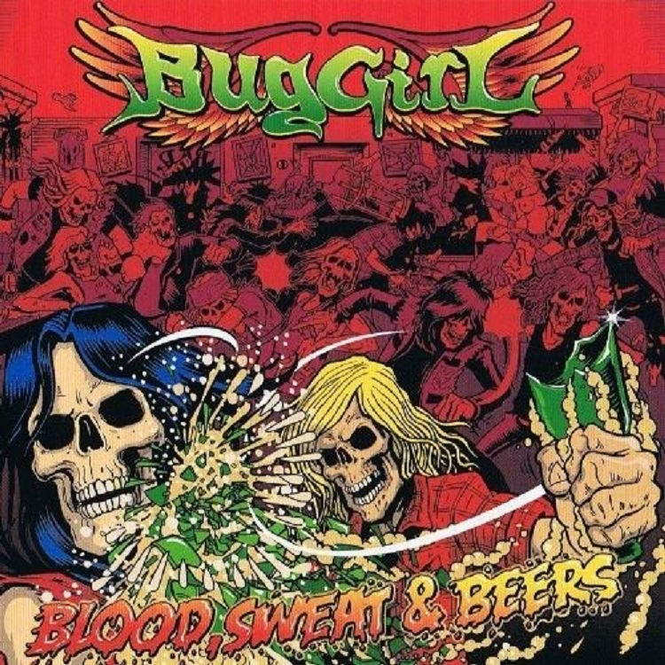 Buggirl - Blood, Sweat & Beers EP