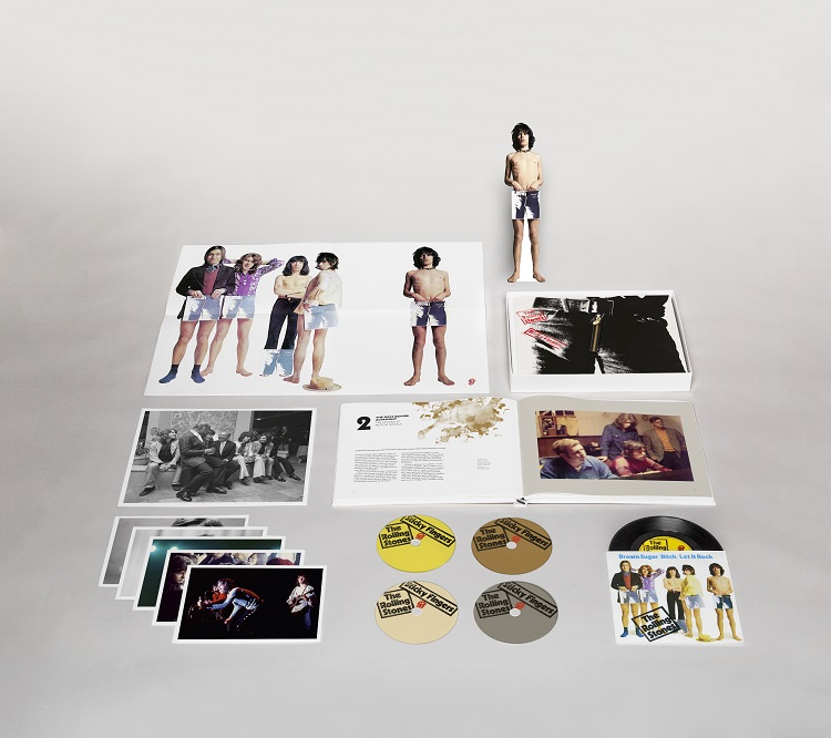 Sticky Fingers Super Deluxe Box 3D mock up