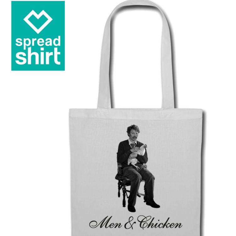 MEN&CHICKEN_Spreadshirt_Beutel+Logo_gr