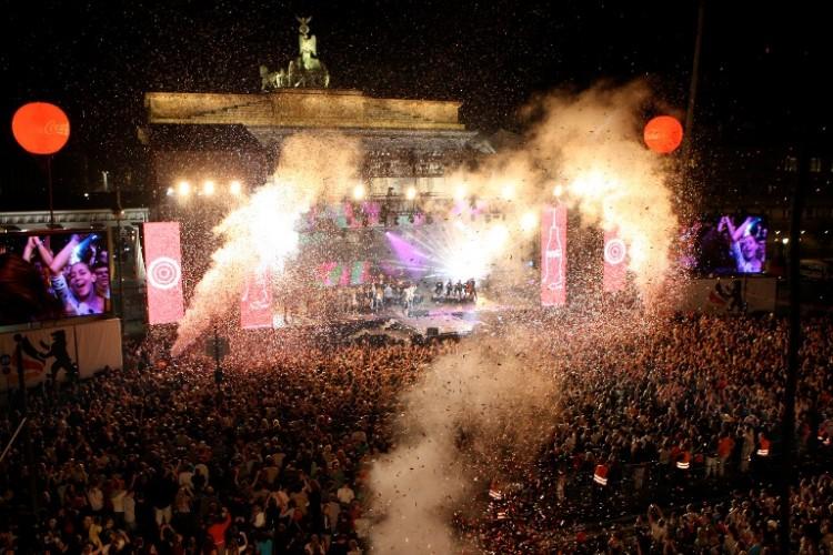 Festival der Einheit am Brandenburger Tor