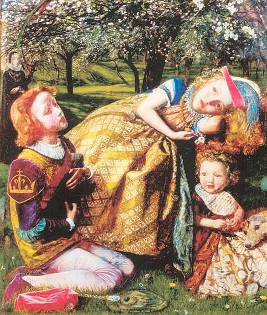 Arthur Hughes_The King's Orchard