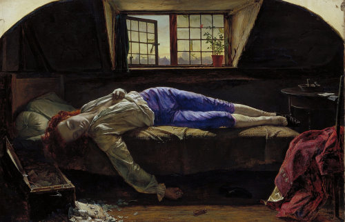 Henry Wallis - The Death of Chatterton
